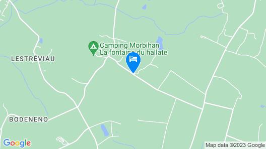 Domaine de Lann Hallat Map