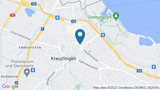 Hotel Swiss Map