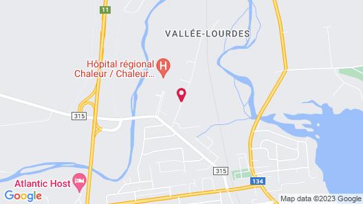 Auberge de la Vallée Map