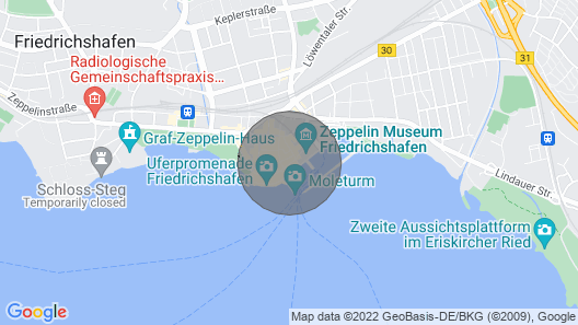 Central Apartment Haus Marschall - Wohnung 3 Directly on Lake Constance With Wi-fi & Terrace Map
