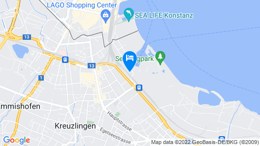 Hotel Kreuzlingen am Hafen Map