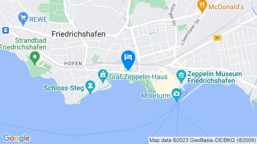 SEEhotel Friedrichshafen Map