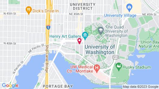 College Inn Hotel Map