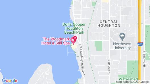 Woodmark Hotel and Still Spa Map