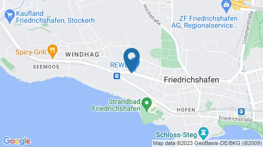 PLAZA Hotel Föhr am Bodensee Map