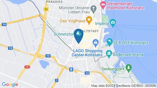 Hotel Constantia Map