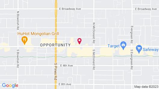 HomeTowne Studios by Red Roof Spokane - Valley Map