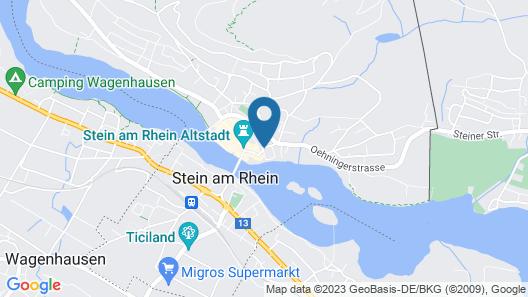 Hotel Chlosterhof Stein Am Rhein Map
