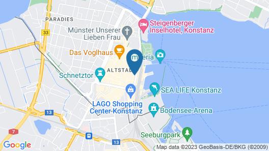 Gästehaus Centro Map