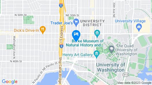 Staypineapple, Watertown, University District Seattle Map