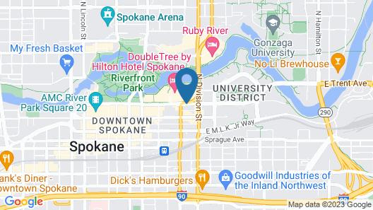 Best Western Plus City Center Map