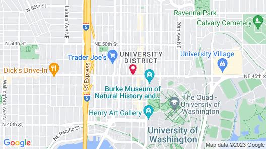 Graduate Seattle Map