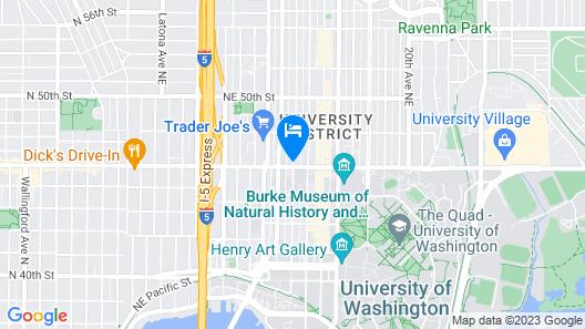 Residence Inn by Marriott Seattle University District Map
