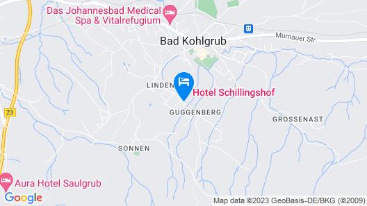 Hotel Schillingshof Map