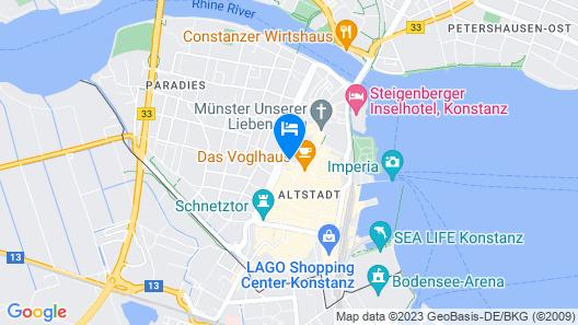 Hotel Graf Zeppelin Map