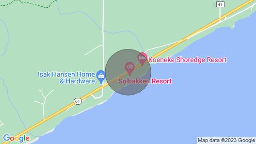 Solbakken Resort On Superior Map