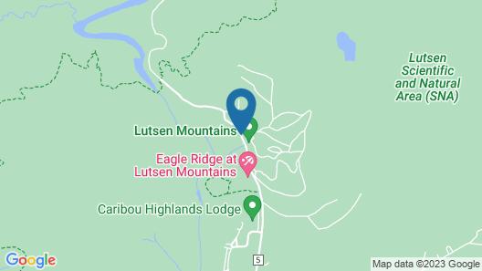 Eagle Ridge Resort at Lutsen Mountains Map