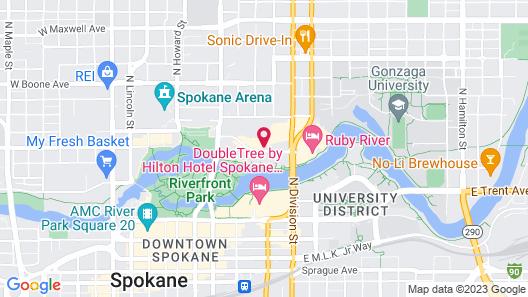 Holiday Inn Express Spokane Downtown, an IHG Hotel Map