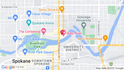 Ruby River Hotel Map