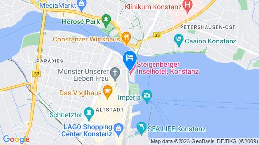 Steigenberger Inselhotel Map