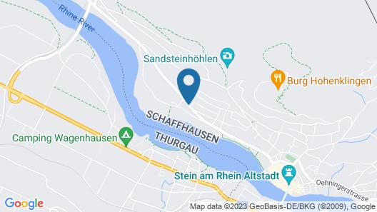 Youth Hostel Stein am Rhein Map
