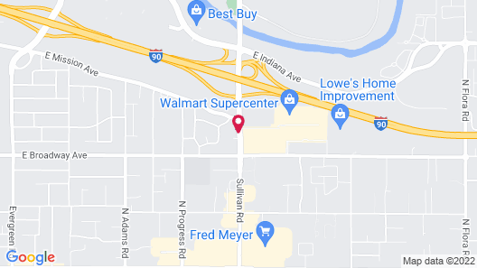 Ramada by Wyndham Spokane Valley Map