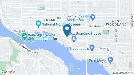 Hotel Ballard Map