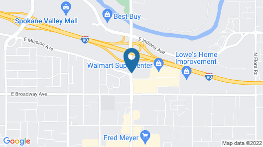 Mirabeau Park Hotel & Convention Center Map