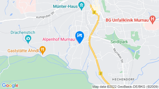 Alpenhof Murnau Map
