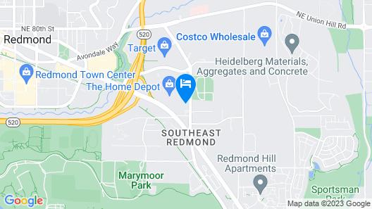 WoodSpring Suites Seattle Redmond Map