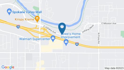 My Place Hotel-Spokane, WA Map