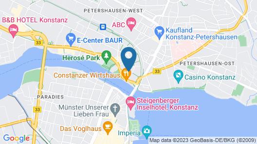ibis Konstanz Map
