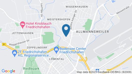 Fewo Mayer am Bodensee Map