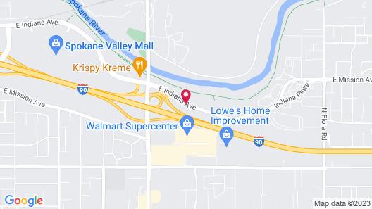 Residence Inn Spokane E Valley Map