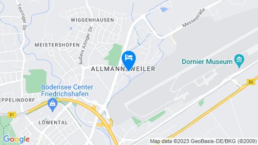 Holiday Inn Express Friedrichshafen Map