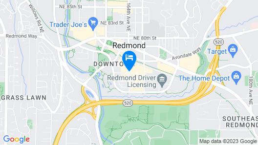 Seattle Marriott Redmond Map