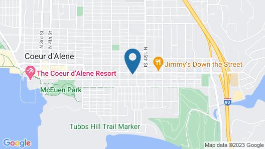 North Idaho Inn Map
