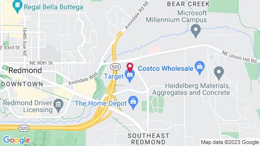Hampton Inn & Suites Seattle/Redmond Map