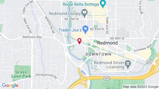 Hyatt House Seattle/Redmond Map