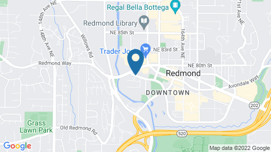 Hyatt House Seattle/Redmond Map