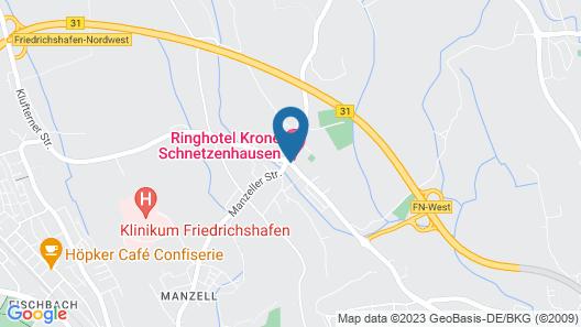 Ringhotel Krone Schnetzenhausen Map