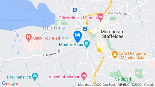 Apartment / App. for 2 Guests With 53m² in Murnau am Staffelsee Map