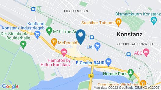 ibis Styles Konstanz Map