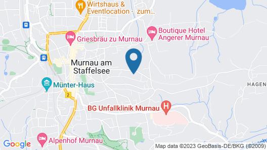 Am Eichholz - Galerie & Art-Hotel Map