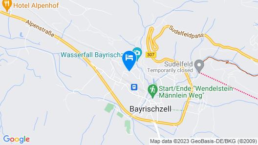 Hotel Garni Effland.de Map