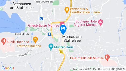 Hotel Post Murnau Map