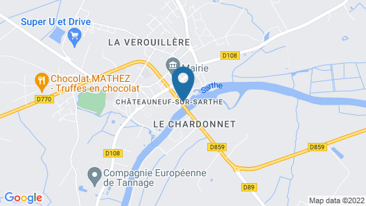 Les Ondines Map