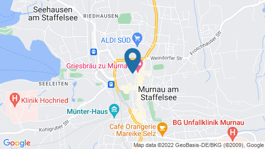 Haus am Gries Map