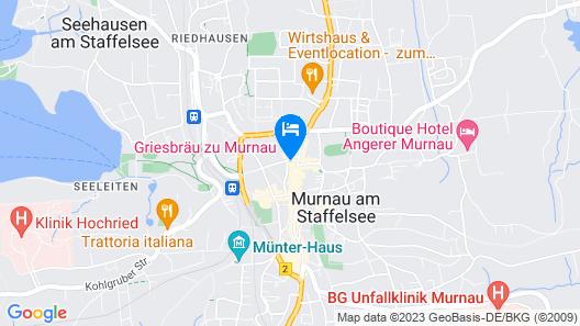Griesbräu zu Murnau  Map