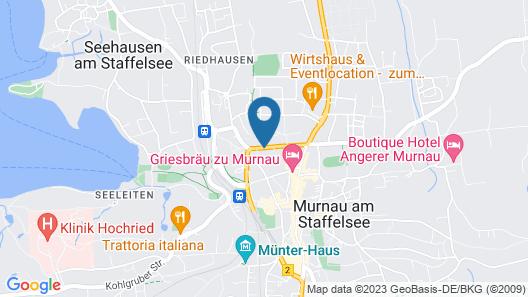 City Suites Murnau Map